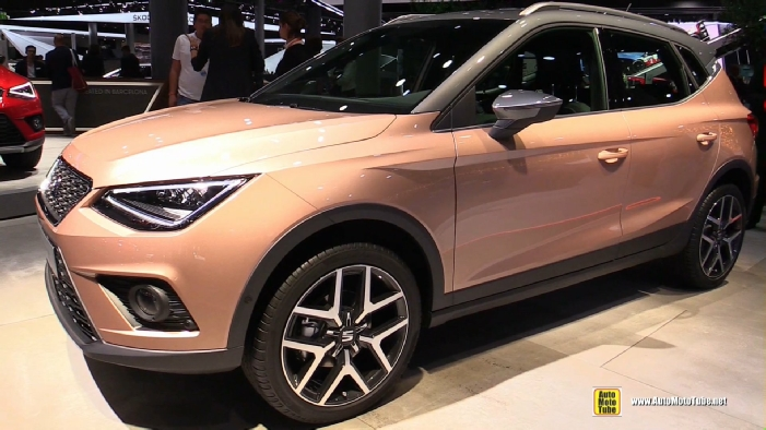 2018 seat arona at 2017 frankfurt motor show. Black Bedroom Furniture Sets. Home Design Ideas