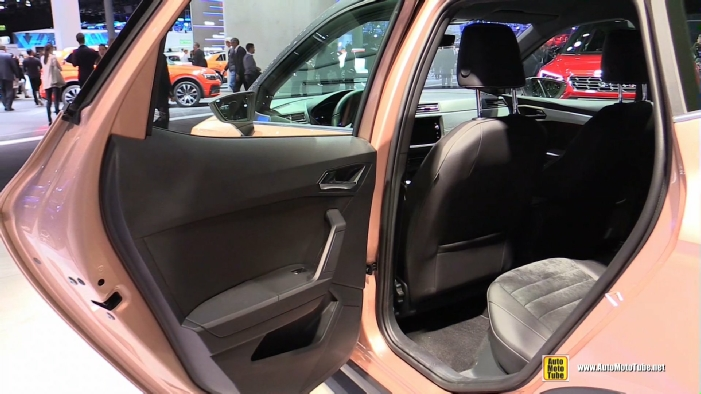 2018 seat arona at 2017 frankfurt motor show for Interior seat arona