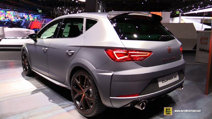 2018 seat leon cupra r at 2017 frankfurt motor show. Black Bedroom Furniture Sets. Home Design Ideas
