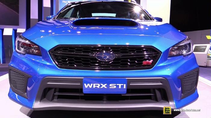 2018 Subaru Wrx Sti At 2017 Detroit Auto Show