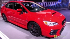 2018 Subaru WRX at 2017 Detroit Auto Show