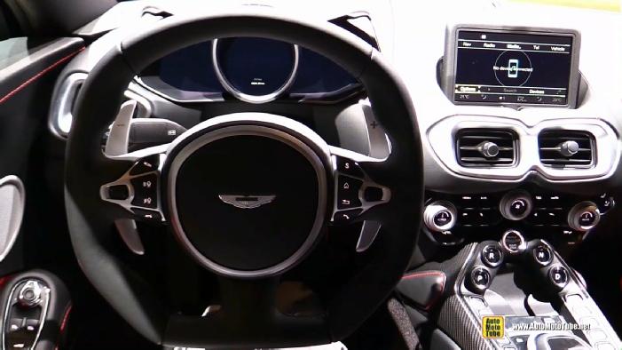 2019 Aston Martin Vantage At 2018 Geneva Motor Show