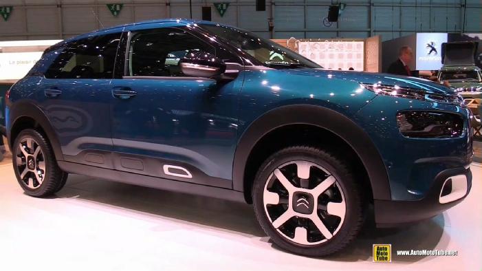 Citroen C4 Cactus >> 2019 Citroen C4 Cactus at 2018 Geneva Motor Show