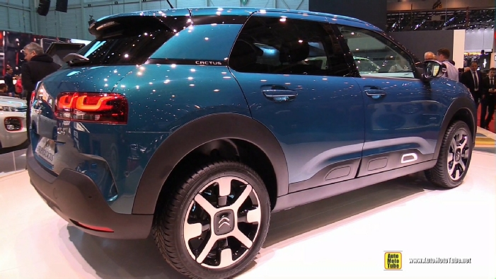 2019 citroen c4 cactus at 2018 geneva motor show. Black Bedroom Furniture Sets. Home Design Ideas