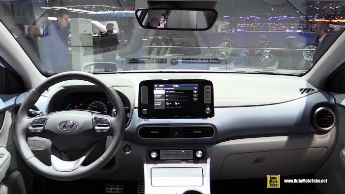 2019 Hyundai Kona Electric at 2018 Geneva Motor Show