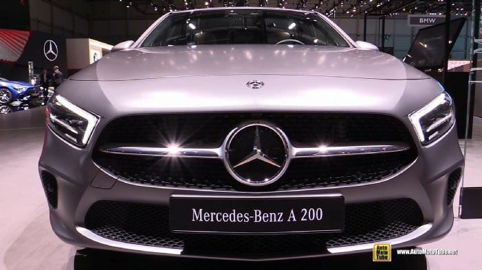 2019 mercedes a200 at 2018 geneva motor show