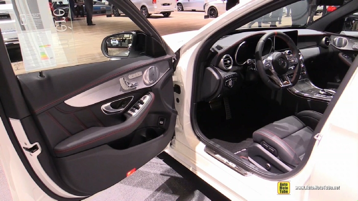 2019 Mercedes AMG C43 4matic at 2018 Geneva Motor Show