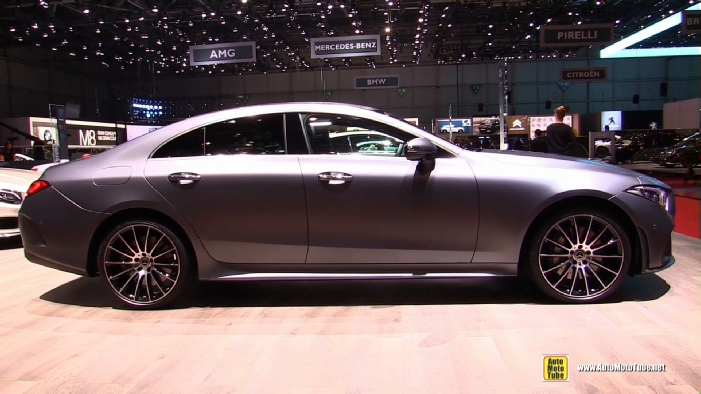 2019 Mercedes Cls 450 4matic Coupe At 2018 Geneva Motor Show