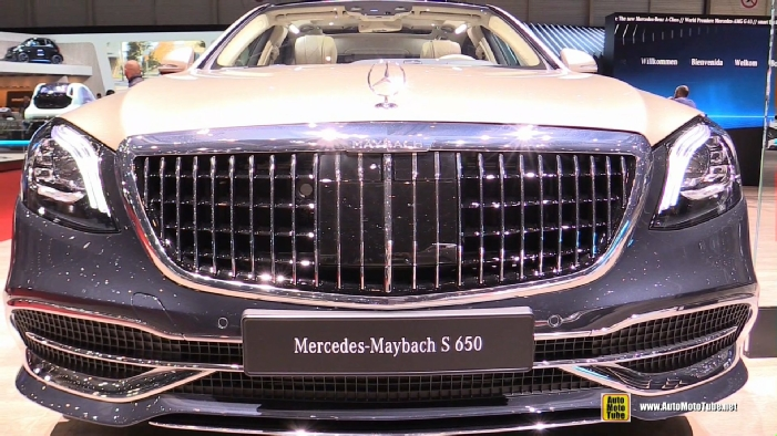 2019 Mercedes Maybach S650 At 2018 Geneva Motor Show