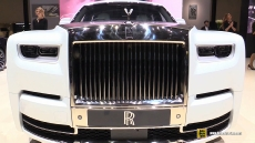 2019 Rolls Royce Phantom at 2019 Geneva Motor Show