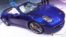2020 Porsche 911 Carrera 4S Convertible at 2019 Geneva Motor Show