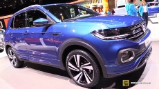2020 Volkswagen T-Cross R-Line at 2019 Geneva Motor Show
