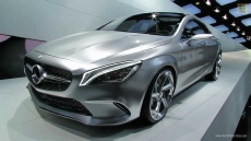 Mercedes-Benz Concept Style Coupe at 2012 Paris Auto Show