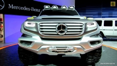 Mercedes-Benz Ener-G-Force Concept at 2012 Los Angeles Auto Show