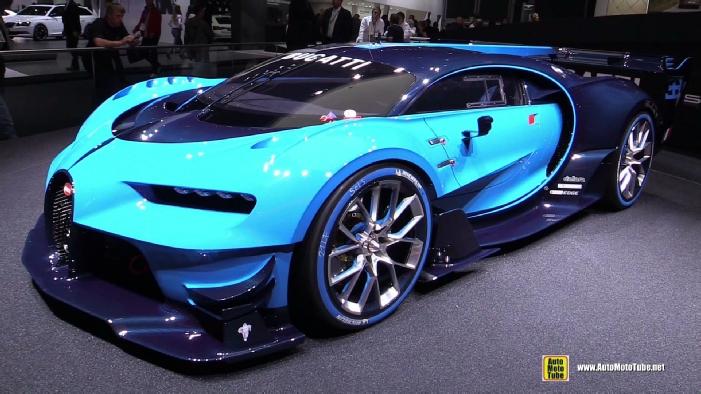 bugatti veyron gran turismo vision concept at 2015
