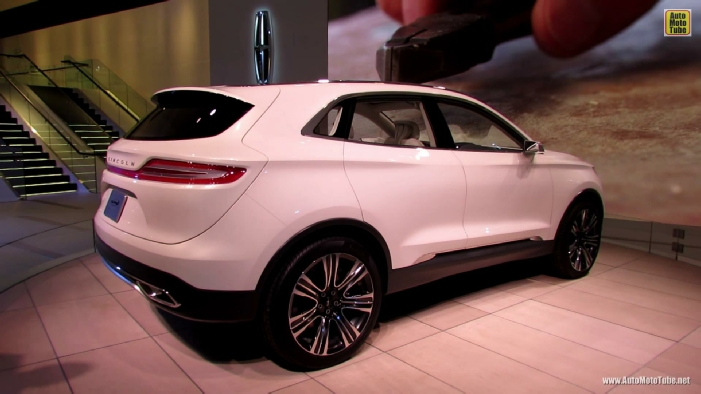 Lincoln MKC Concept at 2013 Detroit Auto Show