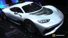 Mercedes AMG Project One at 2017 Frankfurt Motor Show