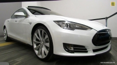 2012 Tesla Model S Signature at 2013 Ottawa Auto Show