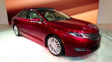 2013 Lincoln MKZ at 2012 New York Auto Show