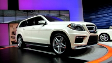 2013 Mercedes-Benz GL550 4matic at 2012 New York Auto Show