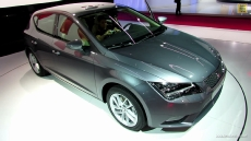 2013 Seat Leon TDI at 2012 Paris Auto Show