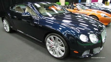 2013 Bentley Continental GT at 2013 Montreal Auto Show