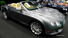 2013 Bentley Continental GTC at 2013 Montreal Auto Show