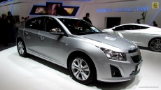 2013 Chevrolet Cruze LTZ Diesel Hatchback at 2012 Paris Auto Show
