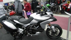 2013 Ducati Multistrada 1200S Touring at 2013 Quebec Motorcycle Show