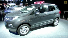 2013 Ford EcoSport Titanium at 2012 Paris Auto Show