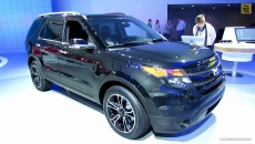 2013 Ford Explorer Sport at 2013 Detroit Auto Show