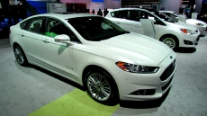 2013 Ford Fusion Hybrid SE at 2012 New York Auto Show