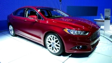 2013 Ford Fusion Titanium at 2012 New York Auto Show