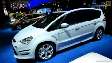 2013 Ford S-Max Titanium Diesel T-DCI at 2012 Paris Auto Show