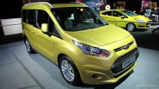 2013 Ford Tourneo Connect Titanium at 2012 Paris Auto Show