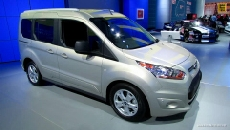 2013 Ford Transit Connect Wagon XLT at 2013 Detroit Auto Show