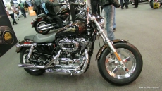 2013 Harley-Davidson Sportster 1200 Custom Aniversary Edition at 2013 Montreal Motorcycle Show