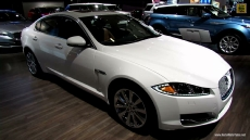 2013 Jaguar XF AWD at 2013 Montreal Auto Show