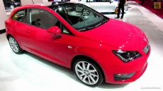 2013 Seat Ibiza FR Coupe at 2012 Paris Auto Show