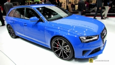 2014 Audi RS4 Avant at 2014 Geneva Motor Show