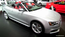 2014 Audi S5 Convertible at 2014 Montreal Auto Show
