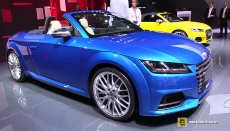2015 Audi TTS Convertible at 2014 Paris Auto Show