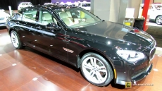 2014 BMW 740Ld xdrive at 2014 Chicago Auto Show