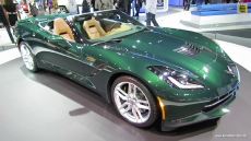 2014 Chevrolet Corvette Stingray C7 Convertible at 2013 Los Angeles Auto Show
