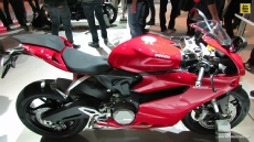 2014 Ducati 899 Panigale at 2013 EICMA Milan Motorcycle Exhibition