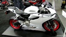 2014 Ducati 899 Panigale at 2013 New York Motorcycle Show