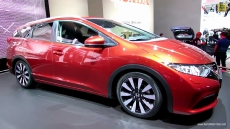 2014 Honda Civic Tourer at 2013 Frankfurt Motor Show