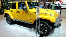 2014 Jeep Wrangler Unlimited Rubicon X at 2014 Chicago Auto Show
