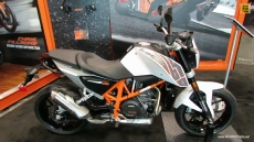 2014 KTM 690 Duke at 2013 New York Motorcycle Show