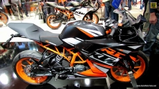 2014 KTM RC 125 at 2013 EICMA Milan Motorcycle Exhibition